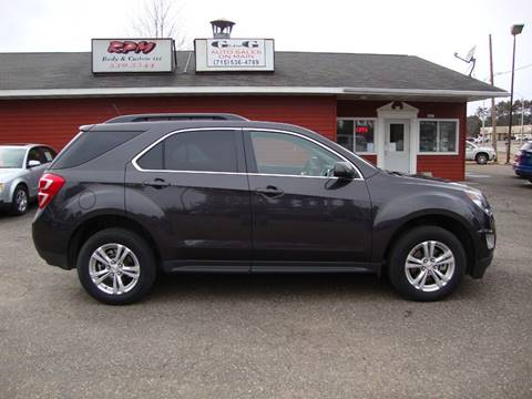 2016 Chevrolet Equinox for sale at G and G AUTO SALES in Merrill WI