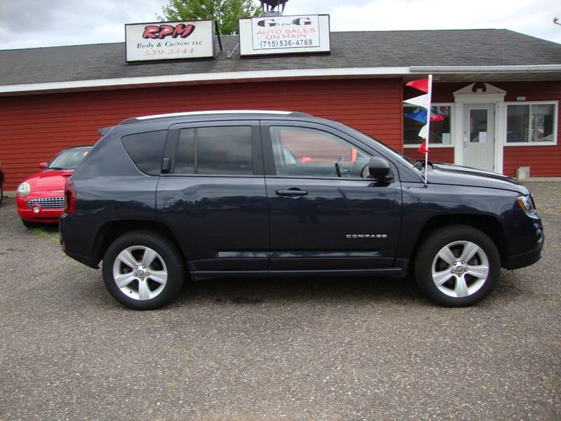 2014 Jeep Compass for sale at G and G AUTO SALES in Merrill WI