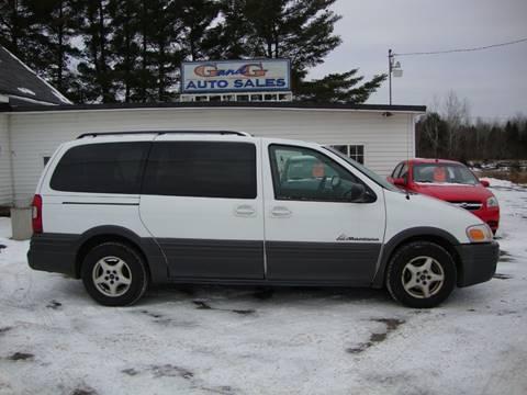 2004 Pontiac Montana for sale in Merrill, WI