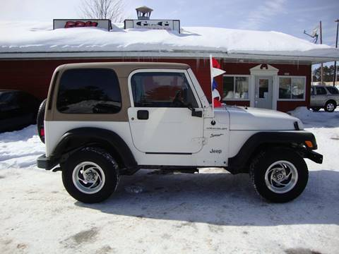 2002 Jeep Wrangler for sale in Merrill, WI