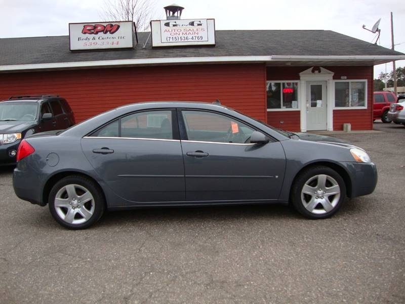 G And G Auto >> 2009 Pontiac G6 4dr Sedan W 1sa In Merrill Wi G And G Auto