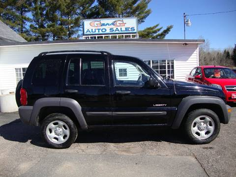 2004 Jeep Liberty for sale in Merrill, WI