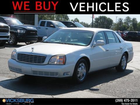 2003 Cadillac DeVille for sale in Vicksburg, MI