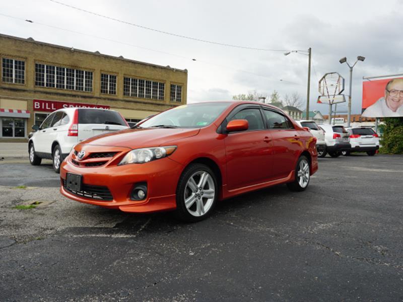 Bill S Auto Sales >> 2013 Toyota Corolla S Special Edition 4dr Sedan In