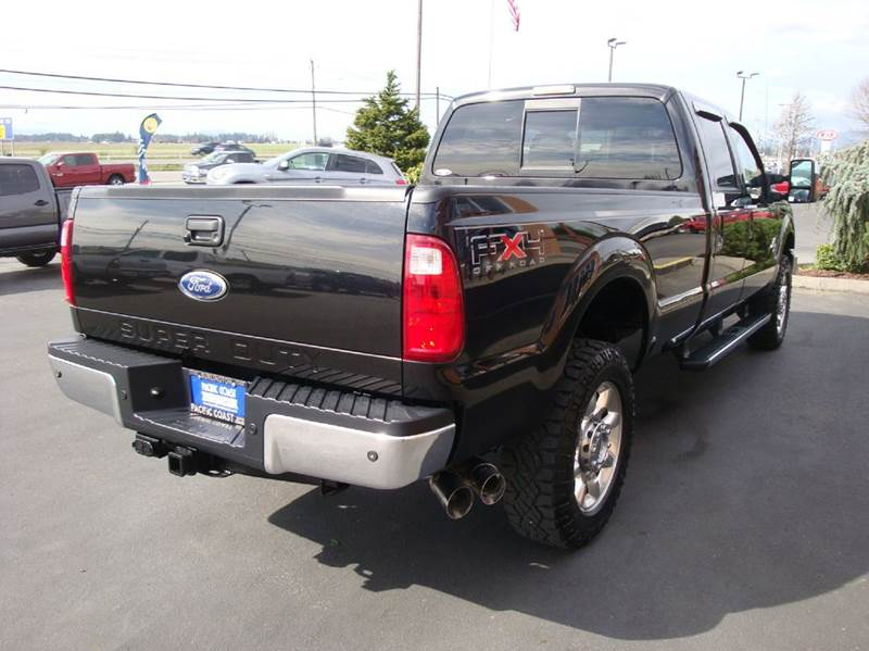 2011 Ford F-350 Super Duty 4x4 Lariat 4dr Crew Cab 8 ft. LB SRW Pickup - Burlington WA