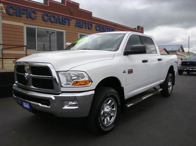 2012 RAM Ram Pickup 3500 4x4 SLT 4dr Crew Cab 6.3 ft. SB Pickup - Burlington WA