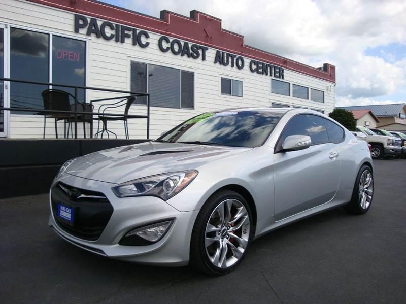 2013 Hyundai Genesis Coupe For Sale At Pacific Coast Auto Center In  Burlington WA