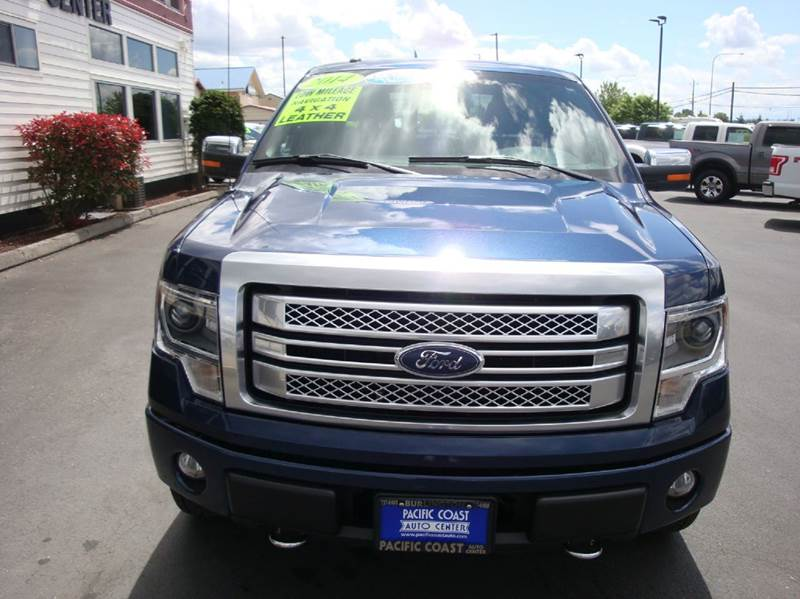 2014 Ford F-150 4x4 Platinum 4dr SuperCrew Styleside 6.5 ft. SB - Burlington WA