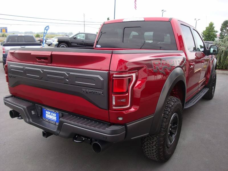 2017 Ford F-150 4x4 Raptor 4dr SuperCrew 5.5 ft. SB - Burlington WA