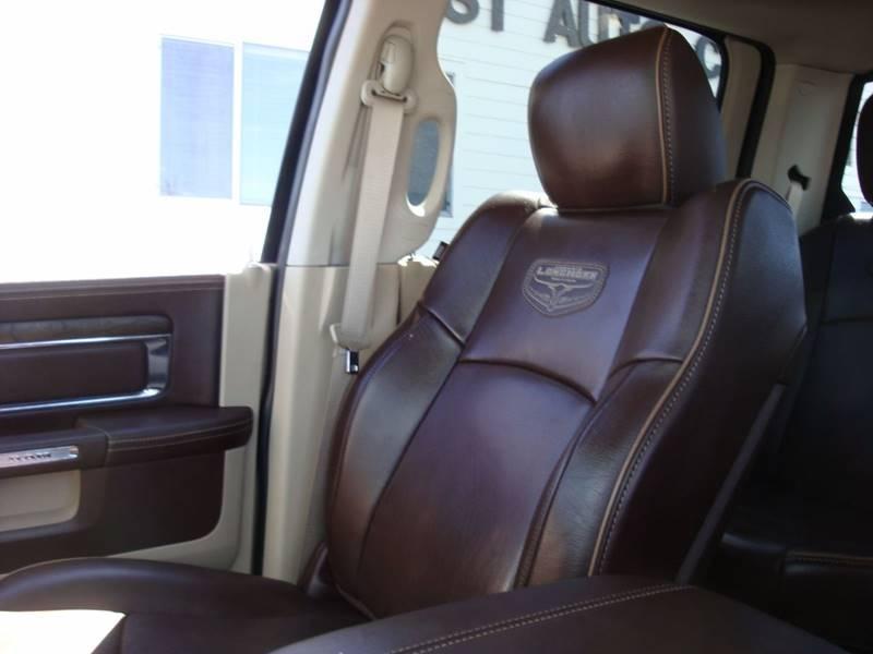2015 RAM Ram Pickup 2500 4x4 Laramie Longhorn 4dr Crew Cab 8 ft. LB Pickup - Burlington WA