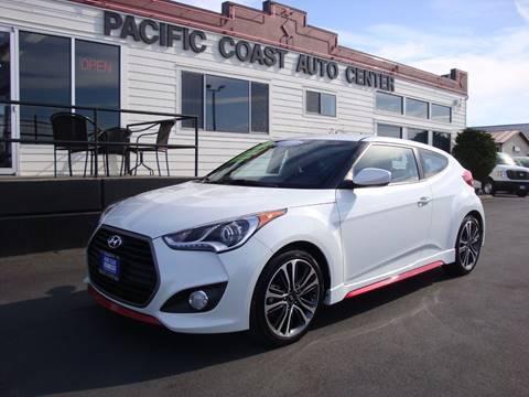 2016 Hyundai Veloster Turbo for sale at Pacific Coast Auto Center in Burlington WA