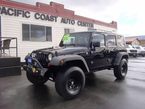 2008 Jeep Wrangler Unlimited for sale at Pacific Coast Auto Center in Burlington WA
