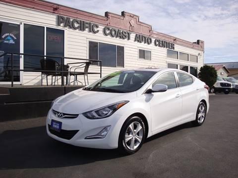 2016 Hyundai Elantra for sale at Pacific Coast Auto Center in Burlington WA