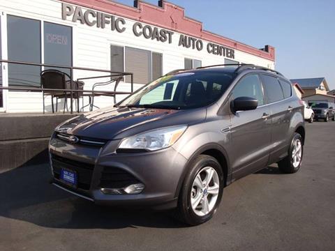 2013 Ford Escape for sale at Pacific Coast Auto Center in Burlington WA