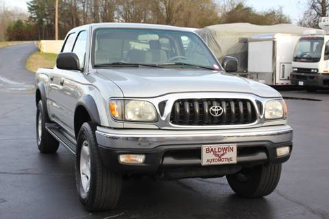 2002 Toyota Tacoma PreRunner V6 for sale at Baldwin Automotive LLC in Greenville SC