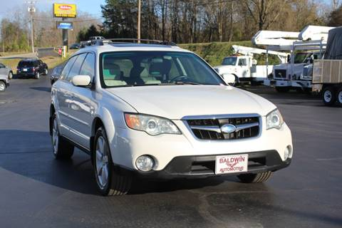 2008 Subaru Outback 2.5i Limited for sale at Baldwin Automotive LLC in Greenville SC