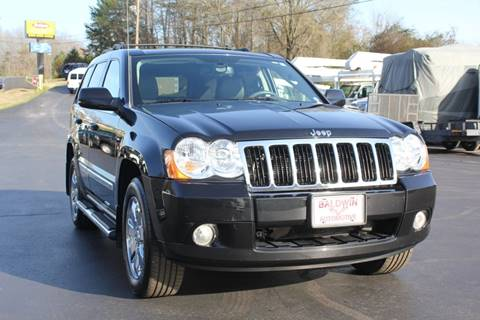 2009 Jeep Grand Cherokee Limited for sale at Baldwin Automotive LLC in Greenville SC