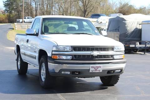 2001 Chevrolet Silverado 1500 LS for sale at Baldwin Automotive LLC in Greenville SC