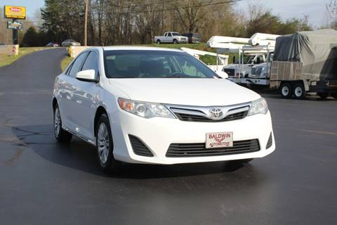 2014 Toyota Camry LE for sale at Baldwin Automotive LLC in Greenville SC