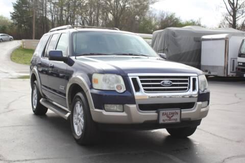2007 Ford Explorer Eddie Bauer for sale at Baldwin Automotive LLC in Greenville SC