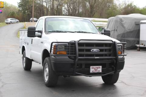 2005 Ford F-250 Super Duty for sale at Baldwin Automotive LLC in Greenville SC