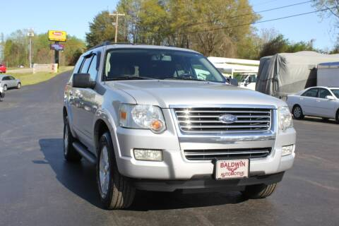 2010 Ford Explorer XLT for sale at Baldwin Automotive LLC in Greenville SC