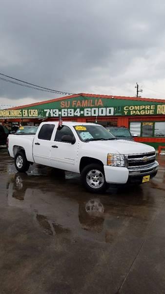 2010 Chevrolet Silverado 1500 4x2 LT 4dr Crew Cab 5.8 ft. SB - Houston TX