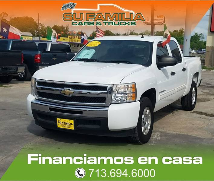 2010 Chevrolet Silverado 1500 4x2 LT 4dr Crew Cab 5.8 ft. SB - Houston TX