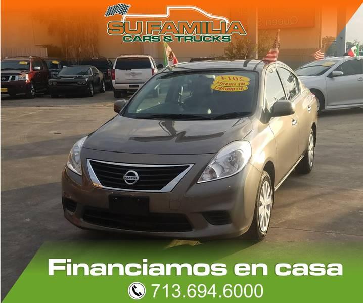 2014 Nissan Versa 1.6 S 4dr Sedan 4A - Houston TX