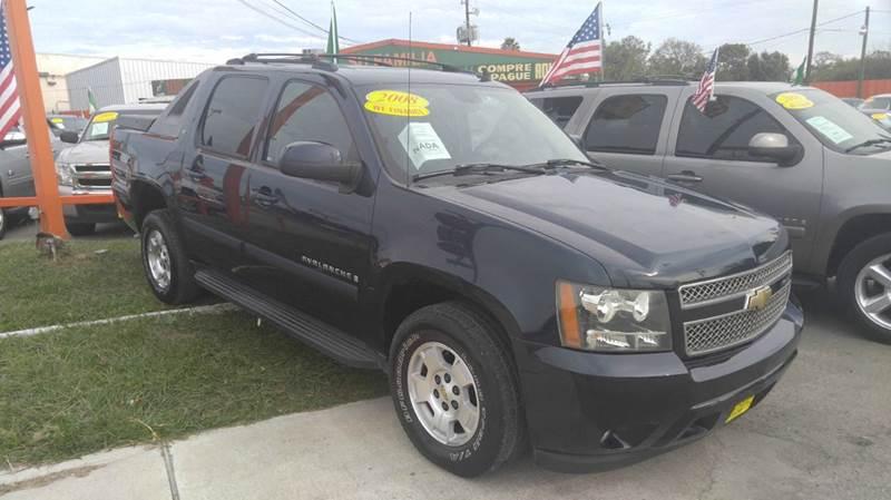 2008 Chevrolet Avalanche LT 4x2 4dr Crew Cab SB - Houston TX