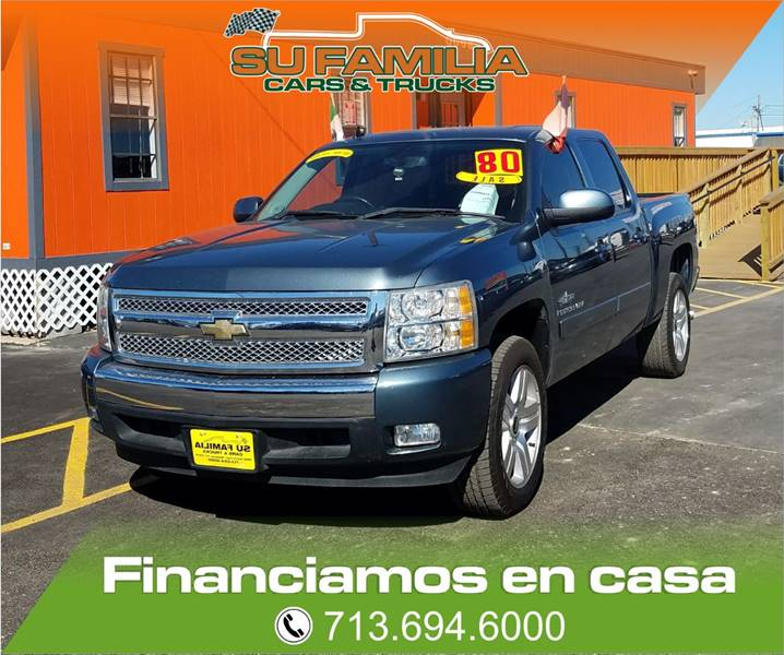 2008 Chevrolet Silverado 1500 2WD LT2 4dr Crew Cab 5.8 ft. SB - Houston TX