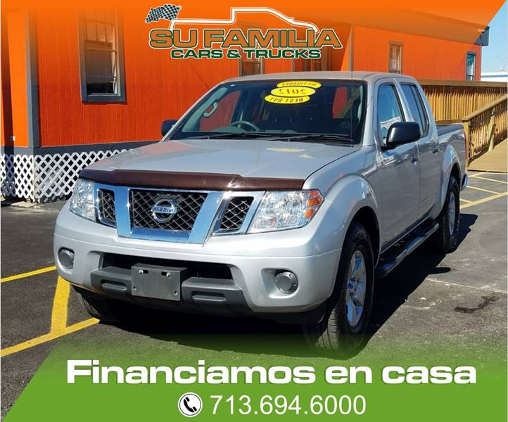 2012 Nissan Frontier 4x2 S 4dr Crew Cab SWB Pickup 5A - Houston TX