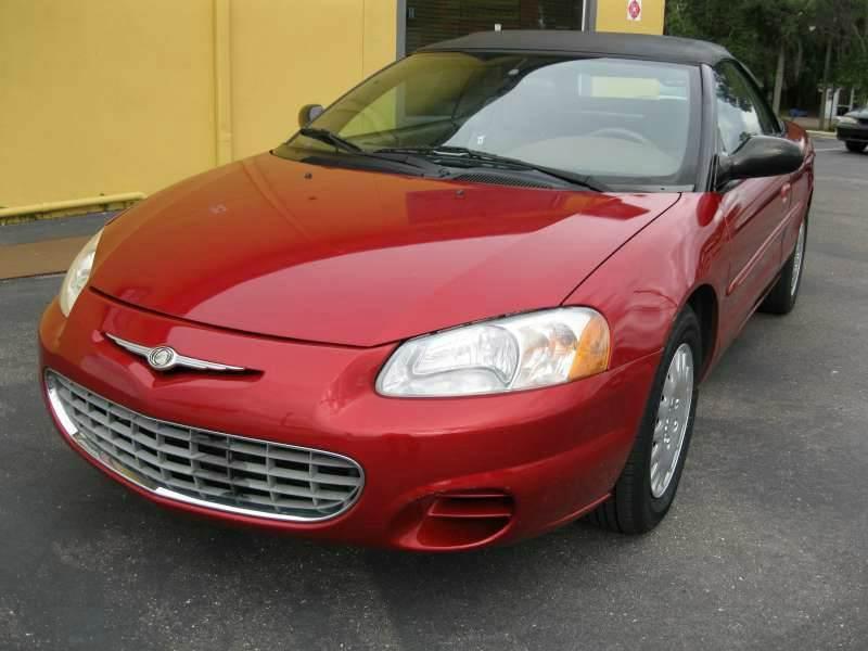 2003 Chrysler Sebring for sale at PARK AUTOPLAZA in Pinellas Park FL