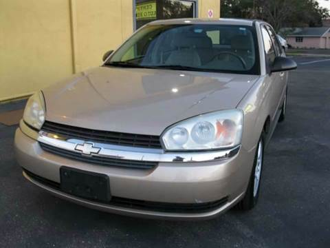 2004 Chevrolet Malibu Maxx for sale at PARK AUTOPLAZA in Pinellas Park FL