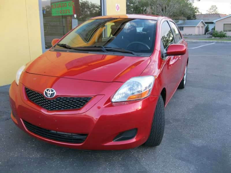 2012 Toyota Yaris for sale at PARK AUTOPLAZA in Pinellas Park FL