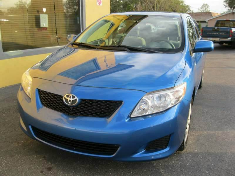 2009 Toyota Corolla for sale at PARK AUTOPLAZA in Pinellas Park FL