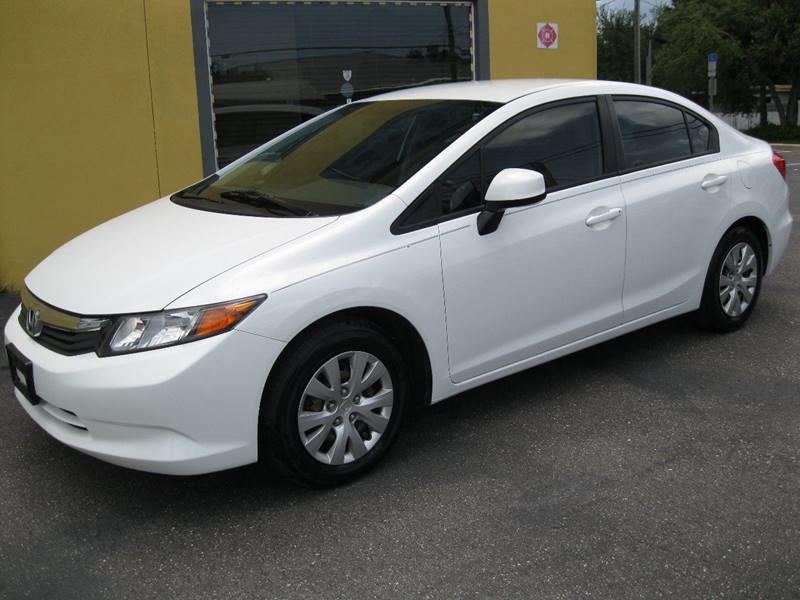 2012 Honda Civic LX 4dr Sedan 5A   Pinellas Park FL
