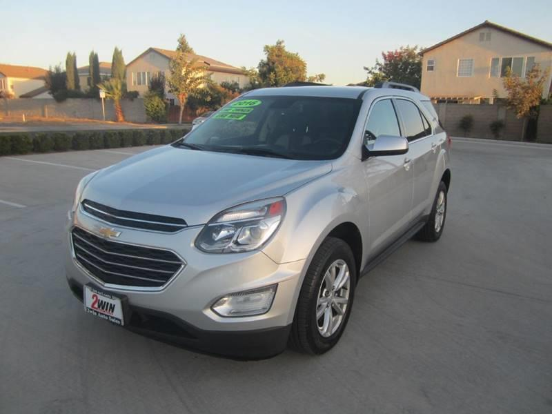 2016 Chevrolet Equinox for sale at 2Win Auto Sales Inc in Oakdale CA