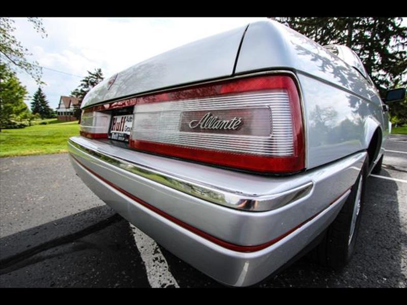1988 Cadillac Allante for sale at HUFF AUTO GROUP in Jackson MI
