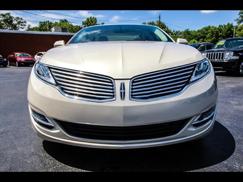 2014 Lincoln MKZ for sale at HUFF AUTO GROUP in Jackson MI