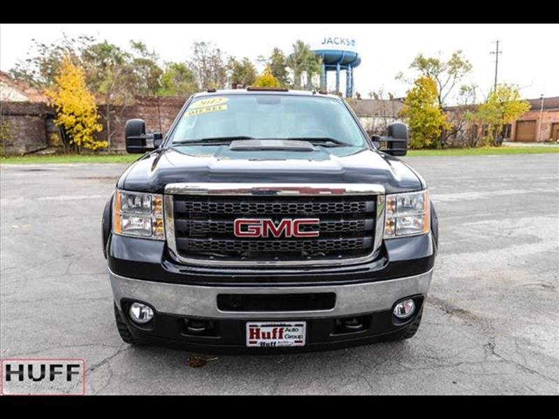 2012 GMC Sierra 2500HD for sale at HUFF AUTO GROUP in Jackson MI