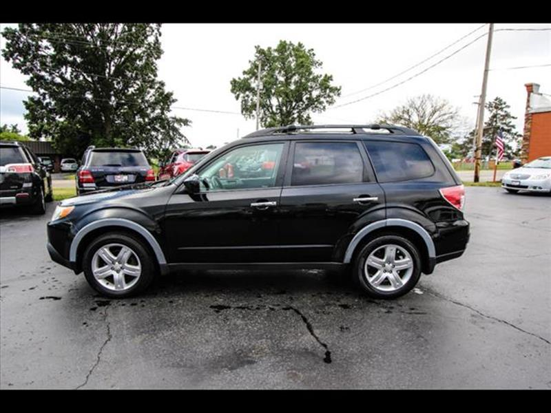 2010 Subaru Forester for sale at HUFF AUTO GROUP in Jackson MI