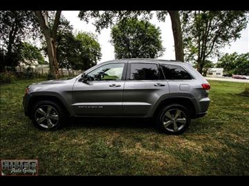 2016 Jeep Grand Cherokee for sale at HUFF AUTO GROUP in Jackson MI