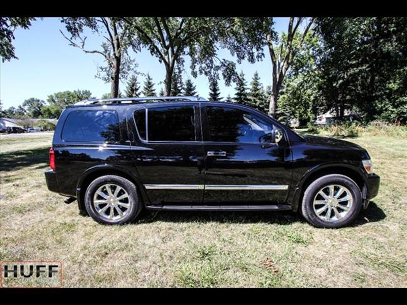 2010 Infiniti QX56 for sale at HUFF AUTO GROUP in Jackson MI