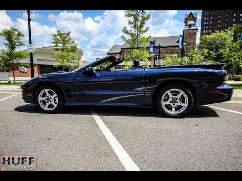 2000 Pontiac Firebird for sale at HUFF AUTO GROUP in Jackson MI