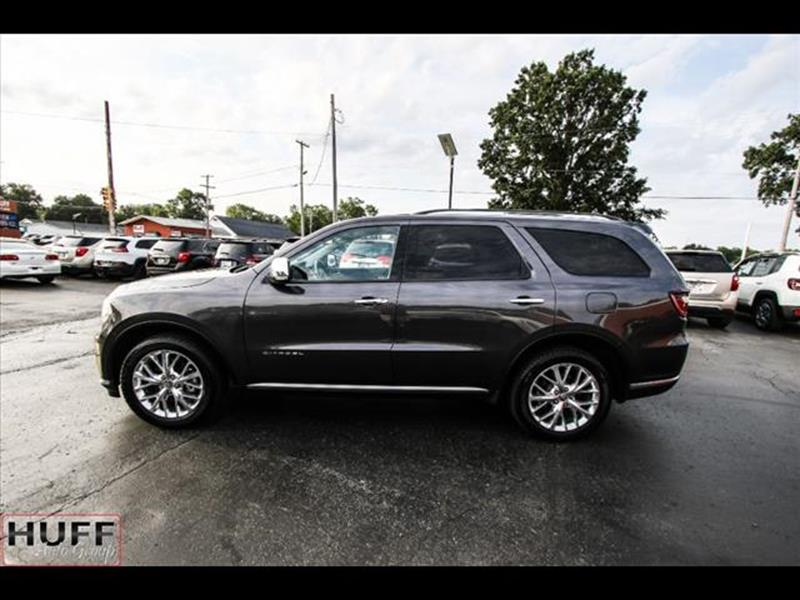 2014 Dodge Durango for sale at HUFF AUTO GROUP in Jackson MI