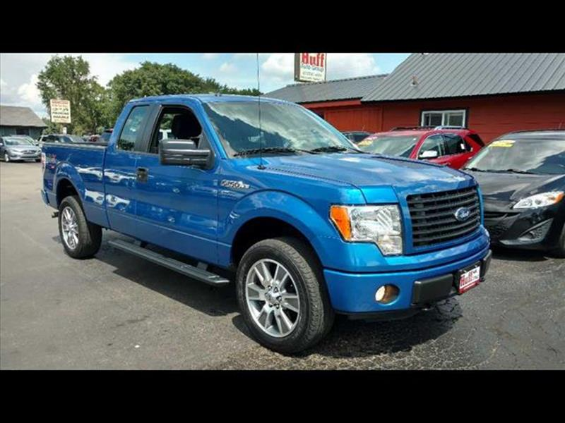 2014 Ford F-150 for sale at HUFF AUTO GROUP in Jackson MI