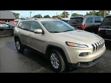 2014 Jeep Cherokee for sale at HUFF AUTO GROUP in Jackson MI