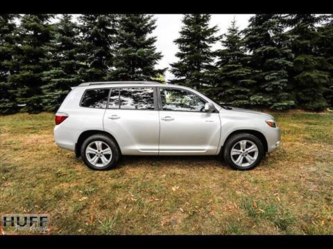 2008 Toyota Highlander for sale at HUFF AUTO GROUP in Jackson MI
