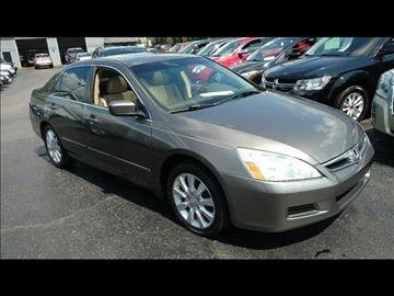 2006 Honda Accord for sale at HUFF AUTO GROUP in Jackson MI